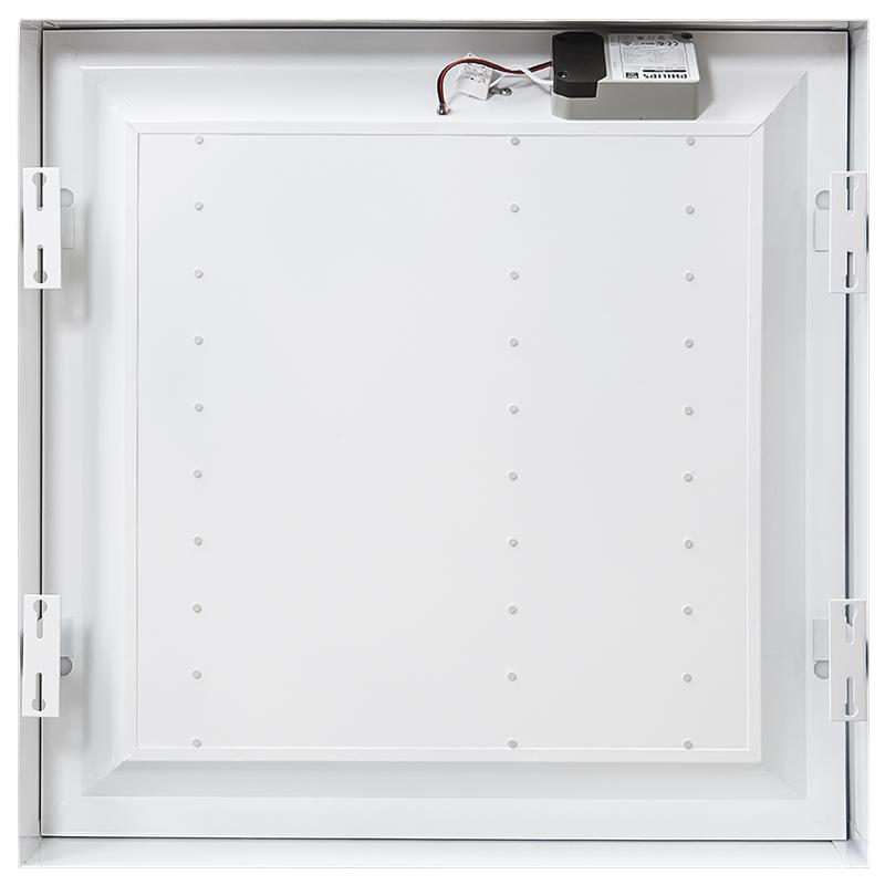 Led Wandstrahler Stripes : LED Anbaupanel 60x60cm 35W 4000K mit OSRAM LEDChips und PHILIPS Trafo