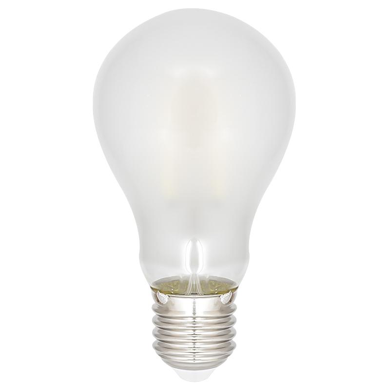 Led Wandstrahler Stripes : LED Leuchtbirne E27 4W 400lm 4000K Glas matt