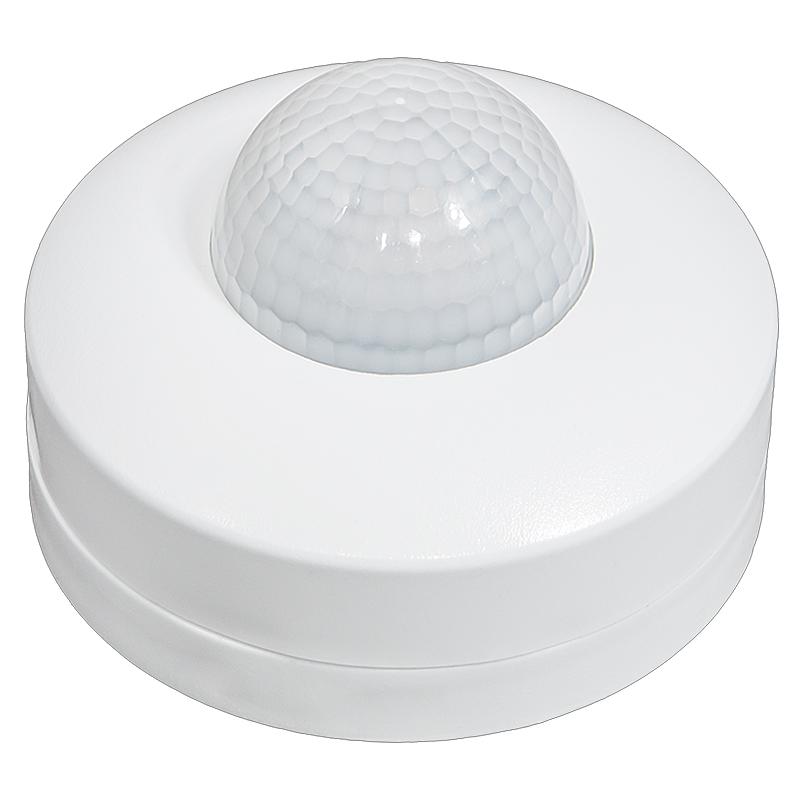 Bewegungsmelder 360° 8,8 cm Infrarotsensor Innenbereich max. 300W weiß
