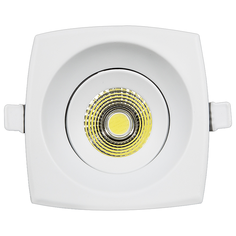 LED Downlight 8W 10,3x10,3cm 3000K/4500K/6000K