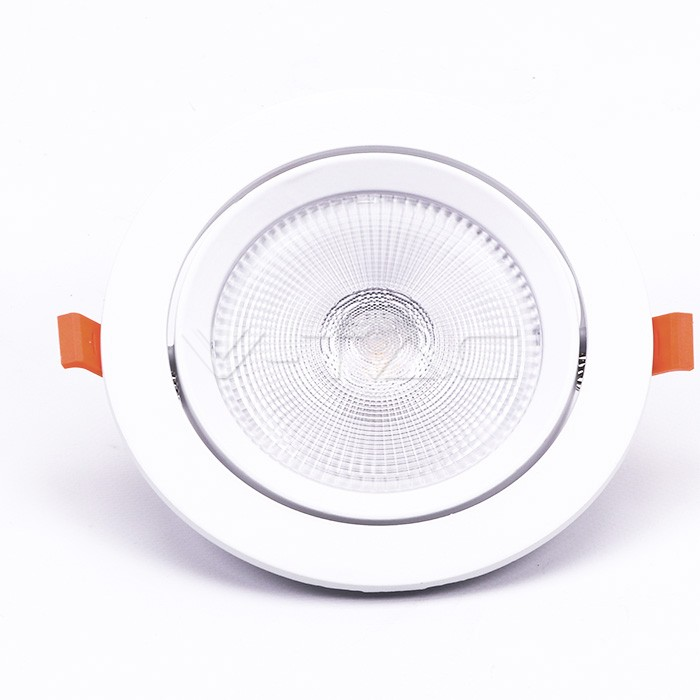 LED Downlight 30W schwenkbar Ø 195mm 4000K 2400lm Samsung Chip 5 j. Garantie
