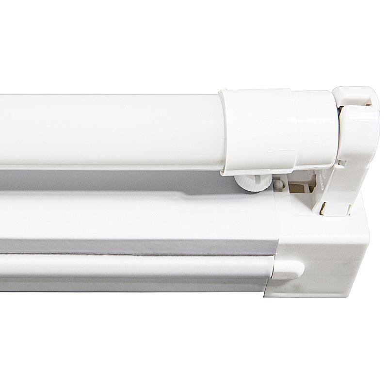 Fassung 150cm mit LED Röhre T8 G13 22W 6400K Halterung einflammig