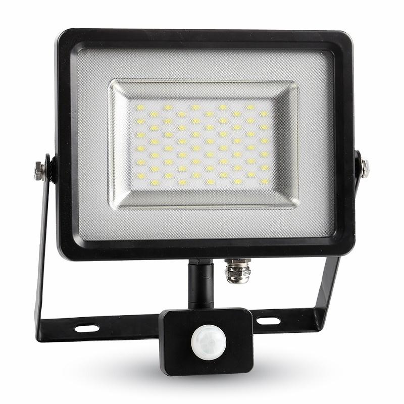 LED Flutlicht 30W 3000K/4500K/6000K mit Bewegungs- und Tageslichtsteuerung
