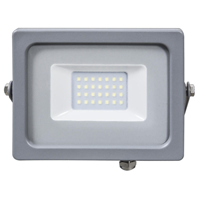 LED Flutlicht 20W Ultra Slim IP65 3000K/4500K/6400K grey Body NEU