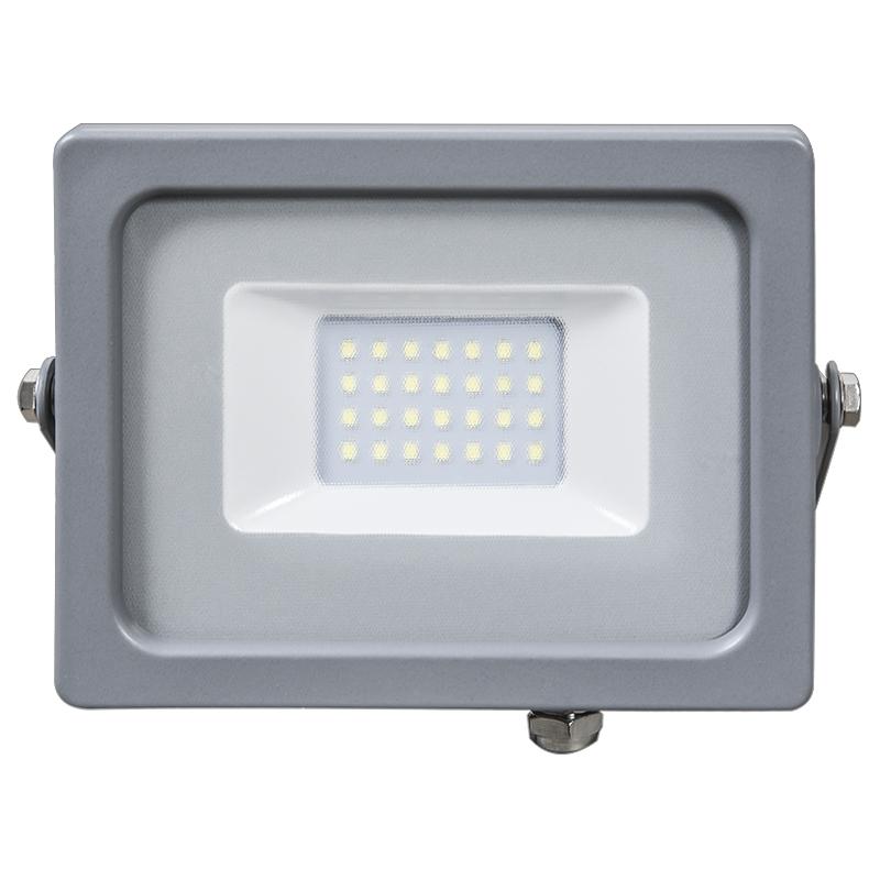 LED Flutlicht 20W Ultra Slim IP65 3000K/4500K/6400K grey Body NEU