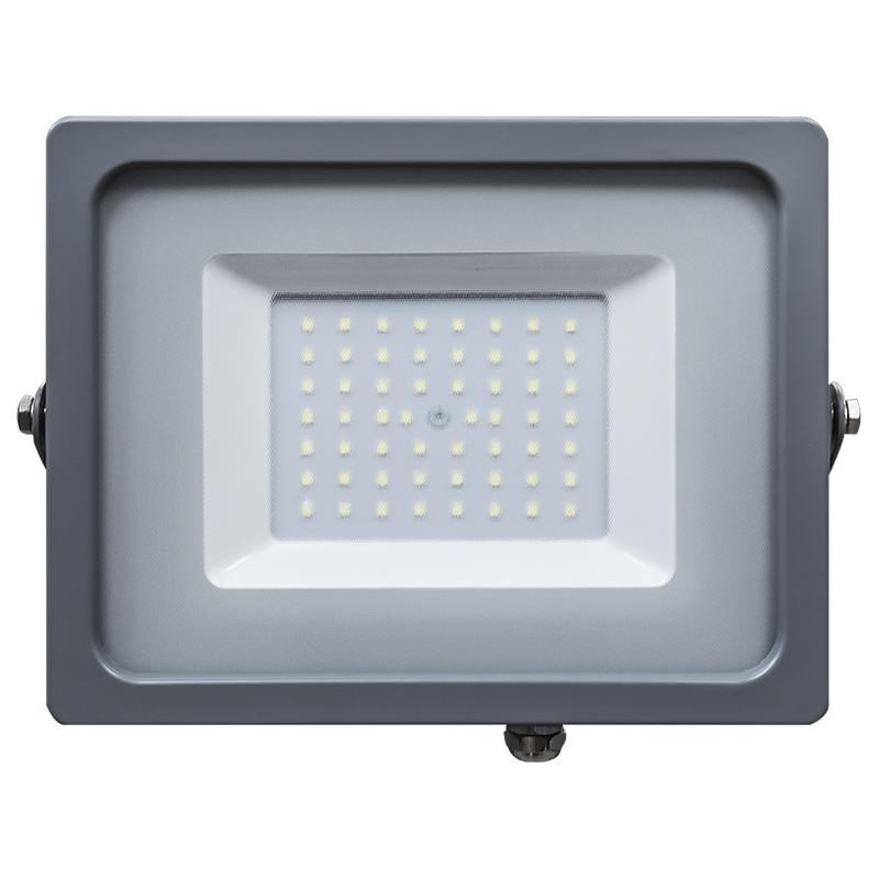 LED Flutlicht 50W Ultra Slim IP65 3000K/4500K/6400K grey Body NEU