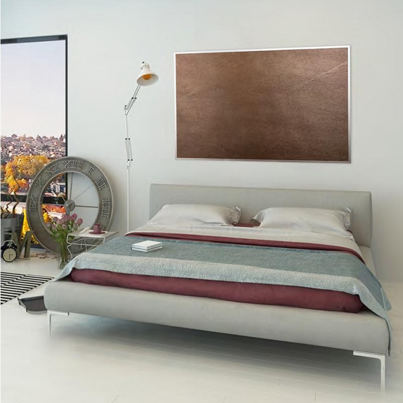 hagenuk infrarot heizung 60x60cm ir 200 bis 8qm 210w naturschiefer ir heizung ebay. Black Bedroom Furniture Sets. Home Design Ideas