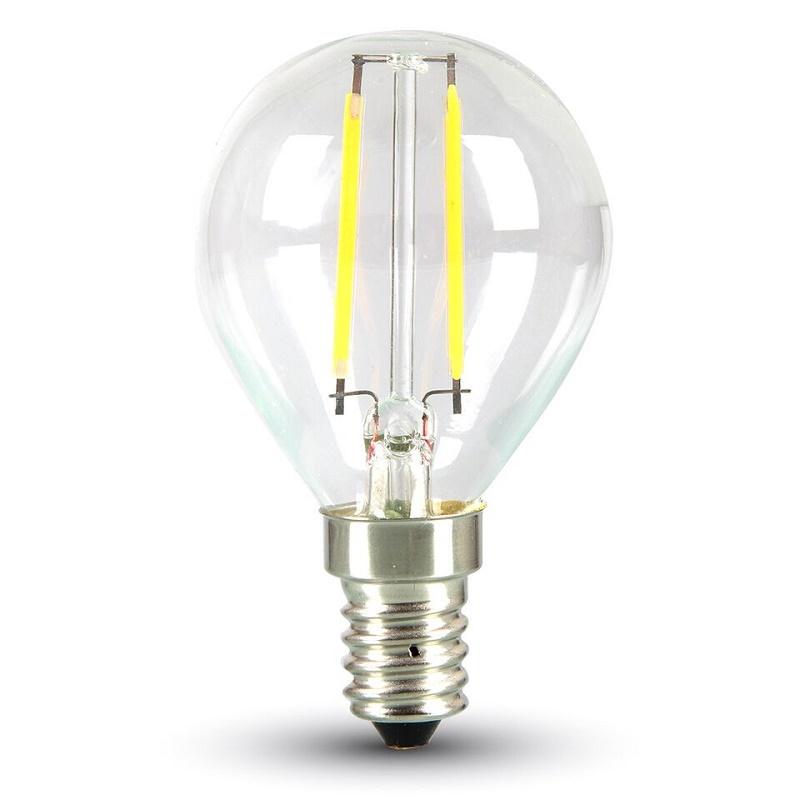 LED Leuchtbirne E14 2W 2700K klar