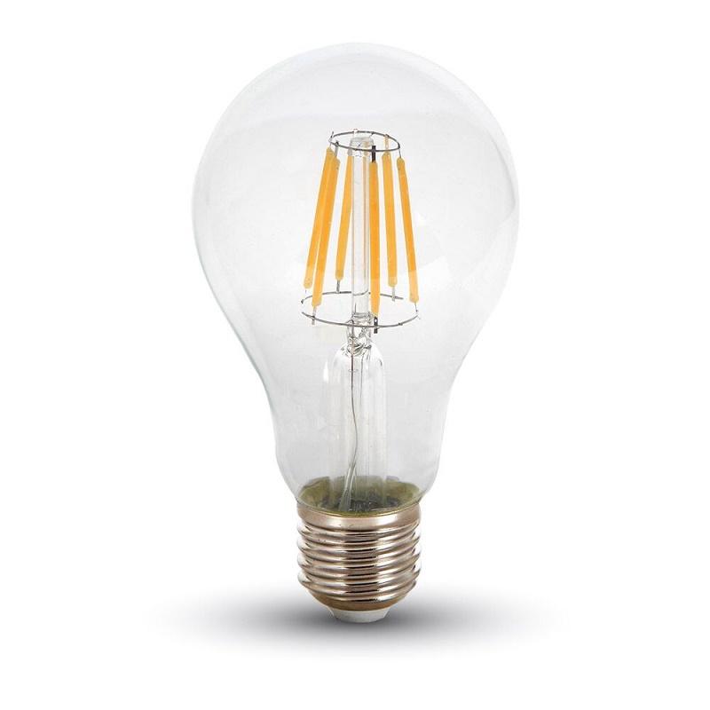 LED Leuchtbirne E27 8W 4500K klar
