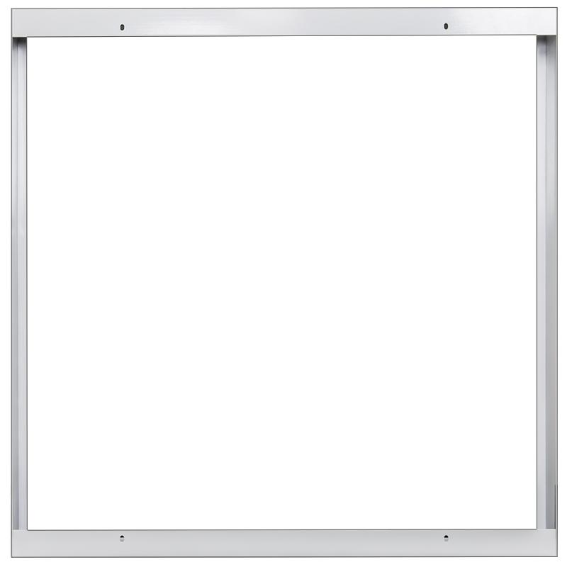 Rahmen für LED Panel 60x60cm Gehäuse Anbau Aufbau Aufputz Montage