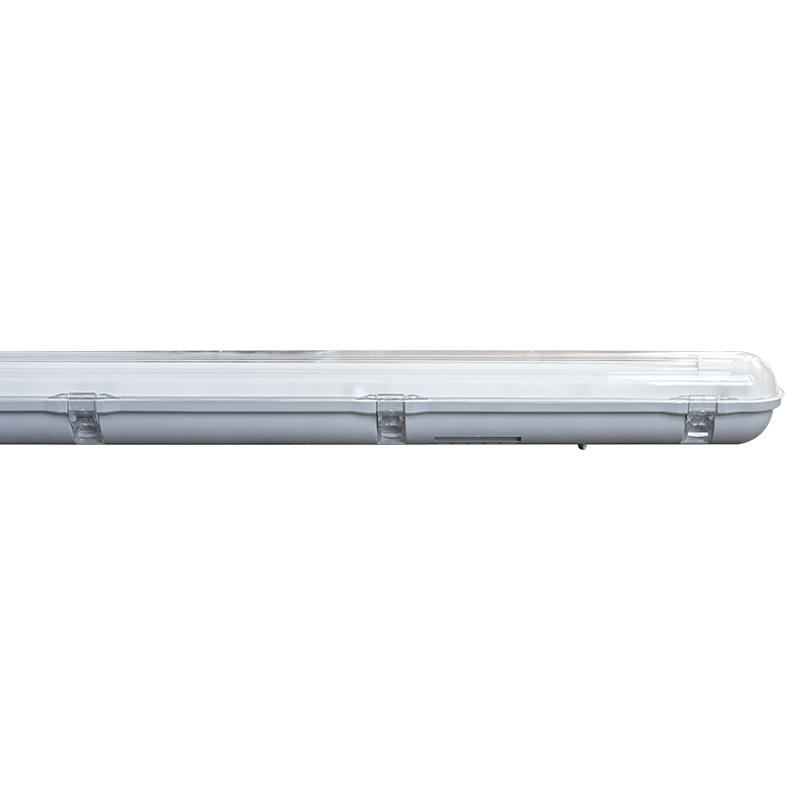 Wannenleuchte Feuchtraum IP65 für LED Röhre Tube G13 T8