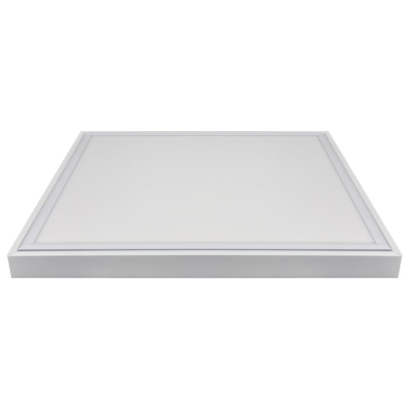 led panel rahmen 30x30 60x30 60x60 120x30 cm anbau aufputz aufbau metall wei ebay. Black Bedroom Furniture Sets. Home Design Ideas